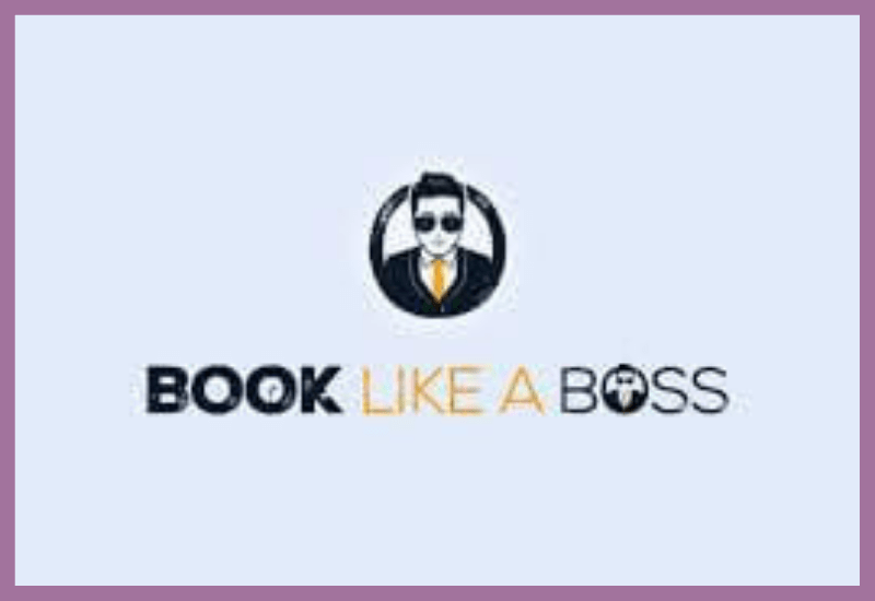 Logo del calendario de reservas online Book Like a Boss